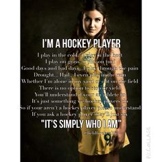 I am a field hockey player! This is who I am, a GIRL field hockey player. Field Hockey Quotes, Field Hockey Goalie, Field Hockey Girls, Hockey Players, Ice Hockey, Field Hockey Sticks, Basketball Quotes, Women's Basketball, Sport Quotes