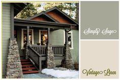 New house exterior siding colors porticos Ideas