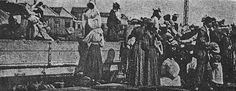 Op pad na die Britse konsentrasiekampe - Anglo Boere oorlog - Suid Afrika - vrouens & kinders word gereed gemaak vir hulle treinrit. North West Province, Baden Powell, The Siege, The Settlers, African History, World War Two, Family History, South Africa, Two By Two