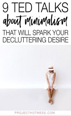 9 TED Talks About Minimalism That Will Spark Your Decluttering Desire - - Need some decluttering inspiration to get your minimalist lifestyle going? These TED Talks about minimalism will make you want to declutter and simplify now. Cute Dorm Rooms, Cool Rooms, Minimalist Lifestyle, Minimalist Home, Minimalist Interior, Minimalist Bedroom, Minimalism Living, Happiness, Declutter Your Home