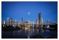 Brisbane CBD by Maciej Nadstazik on 500px
