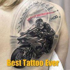 10 pomysłów na tatuaż dla motocyklisty