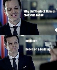 "This upsets me yet makes me laugh. ""There's nothing wrong with me."" - Sherlock"