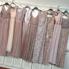 mismatched bridesmaid dresses 15 best outfits - bridesmaid dresses