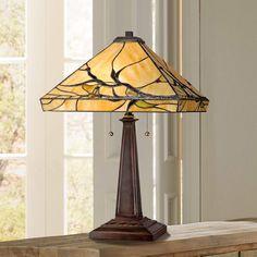 Budding Branch Robert Louis Tiffany Table Lamp - #W2363 | Lamps Plus
