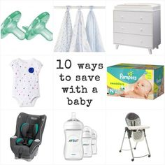 Great list of ways to save money on your baby registry.