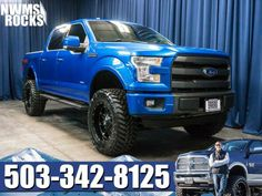 BRAND NEW LIFT! Lifted 2015 Ford F-150 Lariat FX4 4×4 Truck