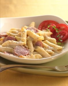 "This simple twist on mac and cheese has tons of five-star ratings. Use cooked, smoked sausage in this upscale macaroni and cheese to give it a subtle smoky flavor. Reduced-fat smoked sausage, turkey sausage or kielbasa sausage work, too. ""Just added this easy to make casserole to my repertoire. The whole family loved it. Yummy!"" says Betty member KatKashe."