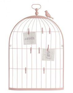 Guirlande rose songe 17 eur maisons du monde chambre - Maison du monde cage oiseau ...