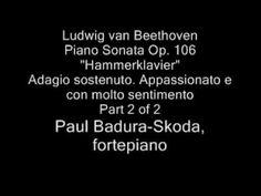 Paul Badura-Skoda - Beethoven Hammerklavier, fortepiano (4/6)