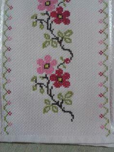 The most beautiful cross-stitch pattern - Knitting, Crochet Love Cross Stitch Letters, Cross Stitch Bookmarks, Cross Stitch Rose, Cross Stitch Borders, Cross Stitch Samplers, Modern Cross Stitch, Cross Stitch Flowers, Cross Stitch Designs, Cross Stitching