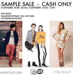 Sample Sale |  Cheap Monday - Mila Brant - Harris Wilson -- Amsterdam -- 03/10-04/10