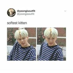 yoongi being soft makes me soft
