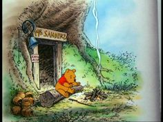 Winnie the Pooh lived in a tree under the name of Sanders