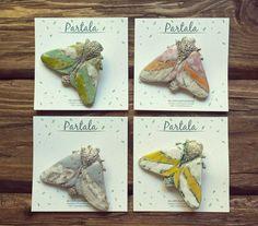 Partala. Творчество, вдохновение, искусство. clay glaze creramics hand-made art flowers artstudio jewelery brooch butterfly мотылек