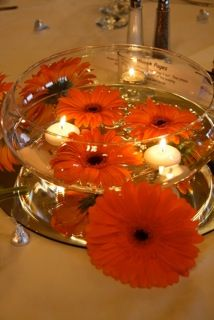 Centerpiece 2- using vases from venue
