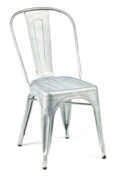 Marais A Side Chair Hot Dipped Galvanized / Industry West