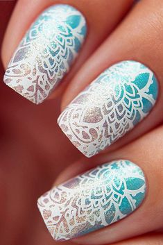 White manicure is timeless and chic. It is one of the best base colors as perfectly highlights the original white nail designs that we collected for you. Nail Stamping Designs, Stamping Nail Polish, Ombre Nail Designs, White Nail Designs, Simple Nail Designs, Horse Nails, White Lace Nails, Sophisticated Nails, Lace Nail Design