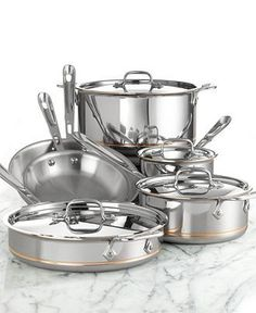 The couple that cooks together, stays together! All-Clad copper core cookware