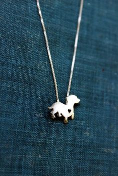 Coolest dachshund necklace ever!