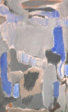 Mark Rothko - Untitled, 1947 oil on canvas 99.1cm × 56.2 cm