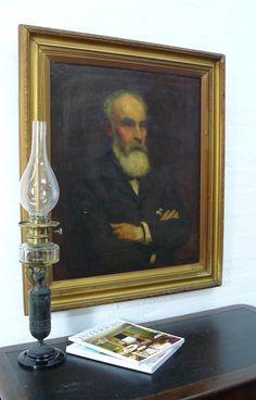 Herbert Gibbs Portrait of a Bearded Gentleman, possibly self portrait