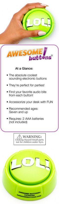 LOL! button - hilarious and unique audio desk-top Fun! The Original!
