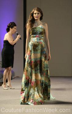 Andres Aquino 꾸뛰르 패션위크 뉴욕 봄컬렉션 2013 #패션위크#패션#꾸뛰르#Andres Aquino#스타일#여자#모던디자이너#모델#패턴#이브닝#드레스#패션쇼#뉴욕