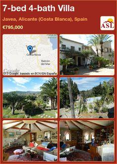 7-bed 4-bath Villa in Javea, Alicante (Costa Blanca), Spain ►€795,000 #PropertyForSaleInSpain
