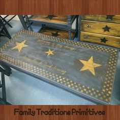 Gentil Primitive Coffee Table Done By Family Traditions Primitives. Follow Me On  Facebook.