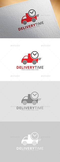 Delivery Time Logo - Logo Templates