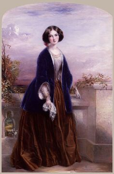 Euphemia ('Effie') Chalmers (née Gray), Lady Millais by Thomas Richmond // Euphemia Chalmers Millais, Lady Millais née Gray (7 May 1828 – 23 December 1897) was the wife of the critic John Ruskin, but left her husband without the marriage being consummated, and after the annulment of the marriage, married his protégé, the Pre-Raphaelite painter John Everett Millais. This famous Victorian love triangle has been dramatised in plays, films and an opera.