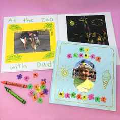 Make it a summer to remember—with a cute and crafty keepsake journal kids make themselves using our Blank Hardcover Book! Lakeshore Learning, Blank Book, Summer Activities For Kids, Summer Fun, Arts And Crafts, Journal, Crafty, Creative, Artwork