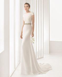 DENISE vestido de novia Rosa Clará 2017