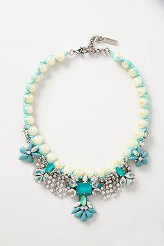 Sirenia Bib Necklace - anthropologie.com $428.00  omg can you believe it!!!