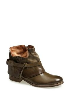 MJUS 'Pelham' Leather Bootie available at #Nordstrom Xmas wish list in black
