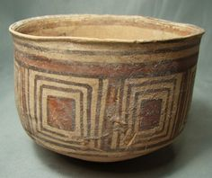 indus valley pottery | 192: Indus Valley, Harappan Pottery Cup, c. 2700-2400 B