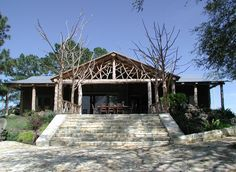 Twig design on outdoor dining area. Made of native cedar trees harvested from the ranch.oh my, beautiful. Porch Addition, Cedar Trees, Outdoor Dining, Dining Area, The Ranch, Building Design, My House, Gazebo, Living Spaces