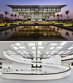 The Hanoi Museum, Vietnam. Designed by GMP Architects.