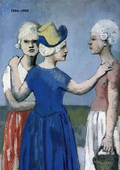 Pablo Picasso – The early Picasso Paintings, Watercolor Paintings Abstract, Watercolor Artists, Abstract Oil, Oil Paintings, Painting Art, Landscape Paintings, Pablo Picasso, History Of Modern Art