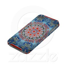 Stained glass window pattern iphone 4 cases