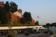 Kraków- Stare Miasto- widok na Wawel.