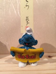 Excited to share the latest addition to my shop: Vintage Fix and Foxi Singer Smurf Sally, Smurfs, All Things, I Shop, Buy And Sell, Singer, Handmade, Stuff To Buy, Etsy