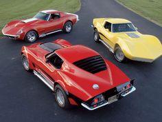 "1973 Motion ""Manta Ray"" Corvette Corvettes"
