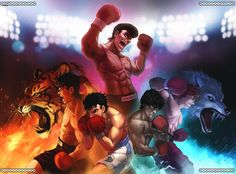 Best Anime ever & Manga Manga Anime, Anime Nerd, Good Anime Series, Japanese Anime Series, Hajime No Ippo Wallpaper, Martial Arts Manga, Mi Images, Street Fighter Characters, Old School Cartoons