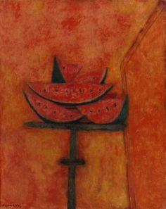 Rufino Tamayo, Watermelon Slices, 1950