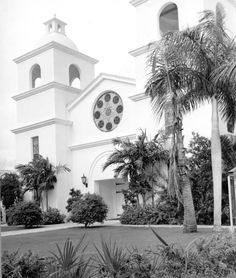 First Presbyterian Church - Bradenton, Florida. Still here!  Harriet Braun christen here in 1913.