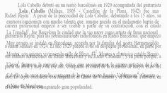 """Lola Cabello  """"Media Granaína"""" Guitarra: Pepe Hurtado -------  las cueva es el olgullo"""