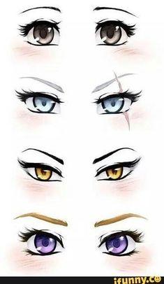 Manga Drawing Tips ruby, rwby, blake, yang, weiss - Manga Drawing, Manga Art, Drawing Sketches, Manga Anime, Art Drawings, Anime Art, Drawing Eyes, Drawing Art, Drawings Of Eyes