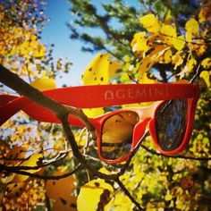 Even in fall a great pair of sunglasses is a must.
